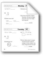 Daily Math Practice (Grade 2, Week 32)