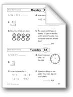 Daily Math Practice (Grade 2, Week 33)
