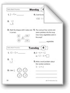 Daily Math Practice (Grade 2, Week 6)