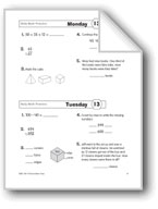 Daily Math Practice, Grade 3: Week 13