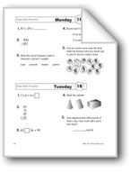 Daily Math Practice, Grade 3: Week 16