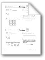 Daily Math Practice, Grade 3: Week 32