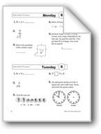 Daily Math Practice, Grade 3: Week 6