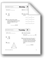 Daily Math Practice, Grade 3: Week 9