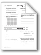 Daily Math Practice, Grade 4: Week 27