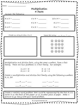 Multiplication Daily Math Practice (Beginner)