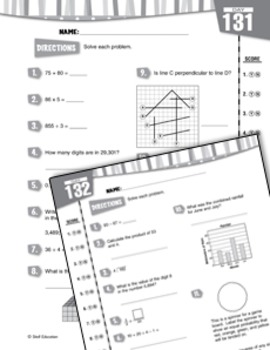 Daily Math Practice for Fifth Grade
