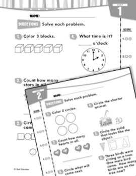 Daily Math Practice for Kindergarten