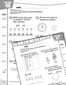 Daily Math Practice for Kindergarten