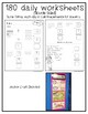 Daily Math Practice for Students with Autism- Level 4/Subtraction with Visuals
