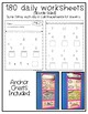 Daily Math Practice for Students with Autism- Level 5/Addi