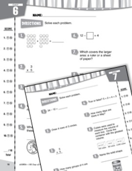 Daily Math Practice for Third Grade (Week 2)