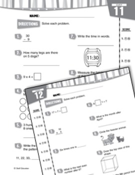 Daily Math Practice for Third Grade (Week 3)