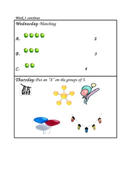 Daily Math Practice of CCSS.K.CC.2-5