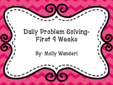Daily Math Problem Solving BUNDLE