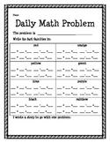 Daily Math Problem