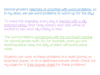 Daily Math Problems - November