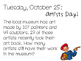 Daily Math Problems - October
