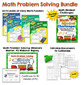 Daily Math Puzzlers Bundle (Word Problems)