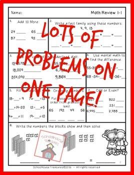 NO Prep 3rd Grade Place Value Review