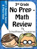 NO Prep 3rd Grade Place Value Review