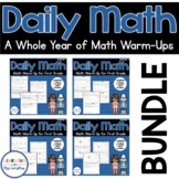 Daily Math Review 1st Grade BUNDLE