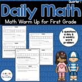 Daily Math Review 1st Grade Quarter 1