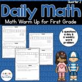 Daily Math Review 1st Grade Quarter 2