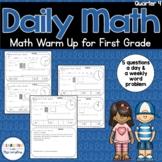 Daily Math Review 1st Grade Quarter 4