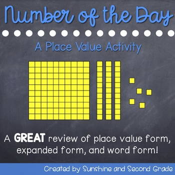 Number of the Day: A Place Value Activity