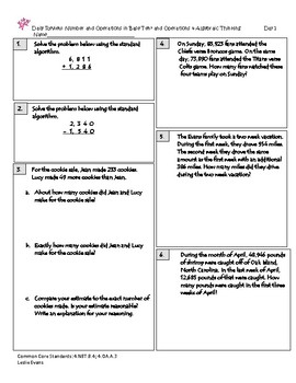 Common Core Daily Math Review 2