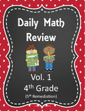 Daily Math Review- 4th Grade