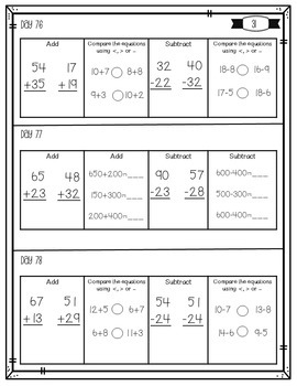 Daily Math Review {All Year}