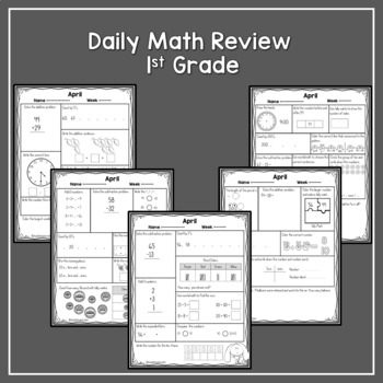 Daily Math Review -February,March