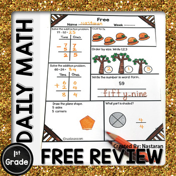 Daily Math Review Free - Spiral Math Review