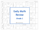 Daily Math Review Grade 1