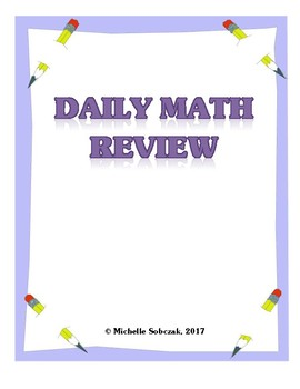 Daily Math Review (Grade 4) - Weekly practice problems and tests