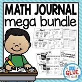 Daily Math Review Journal {GROWING} Bundle for Kindergarten