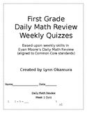 Daily Math Review Quizzes
