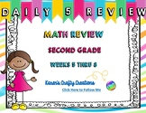 Daily Math Review: Second Grade (Weeks 5 thru 8)