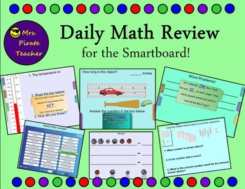 Daily Math Review (Smartboard)