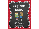 Daily Math Review- Vol. 3