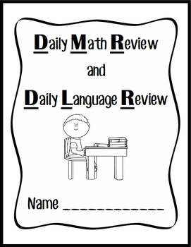 Daily Math Review and Daily Language Review Blank Pack