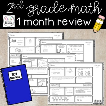End of year 2nd grade- 1 month review