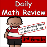 Daily Math Common Core Review for 3rd Grade