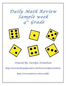 Daily Math Review for 4th Grade