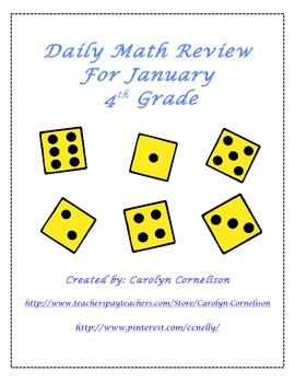 Daily Math Review for January