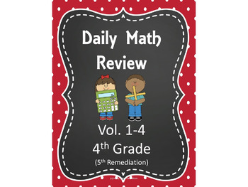 Daily Math Review for the Smart Board BUNDLE