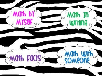 Daily Math Rotations