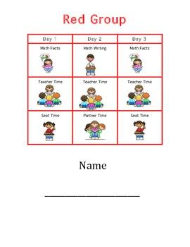 Daily Math Schedule